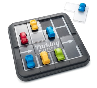 Parking Puzzler, a logic puzzle game designed by Raf Peeters